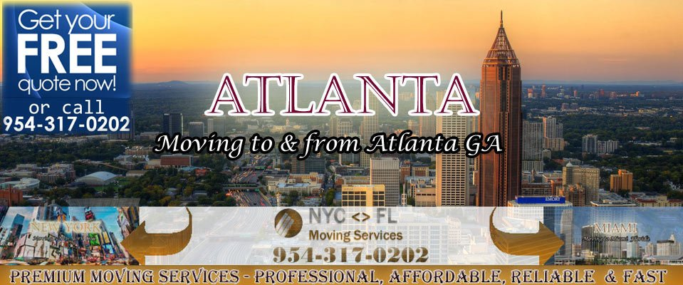 Atlanta to New York Movers