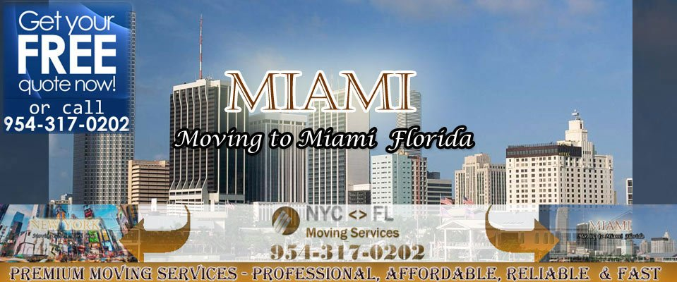 Long Distance Miami Movers to New York