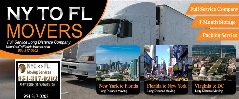 New York to Miami Florida Movers - Long Distance Moving Services
